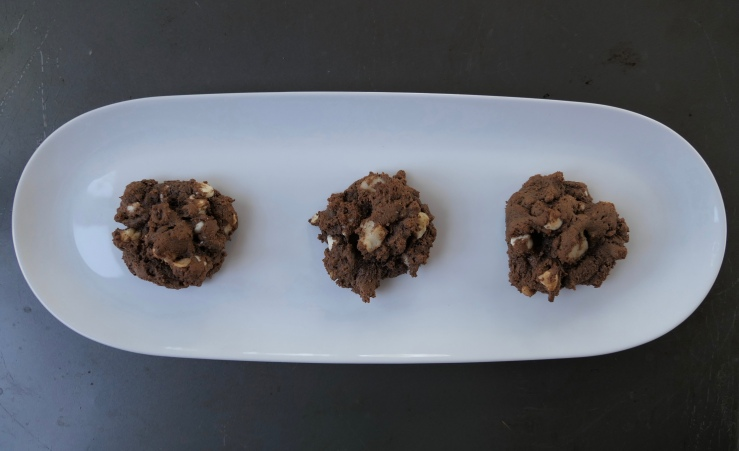 Double Chocolate Macadamia Nut Cookies - Slice of Honey Blog