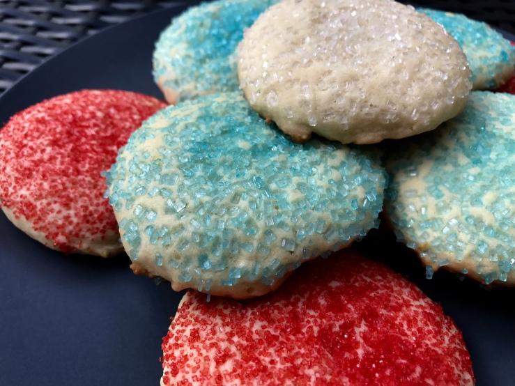 Stir-n-Drop Sugar Cookies - Slice of Honey Blog