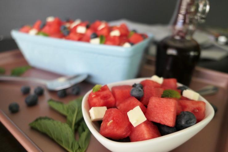 Watermelon Salad - Slice Of Honey Blog